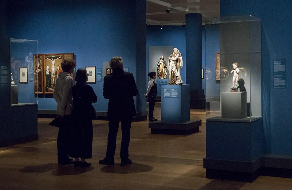 Fabian Fröhlich, Ausstellung Spätgotik, Gemäldegalerie Berlin, Dangolsheimer Madonna