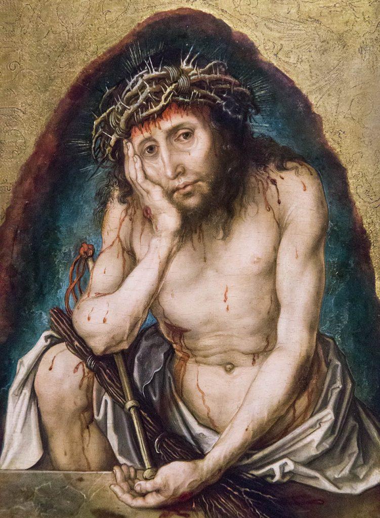 Fabian Fröhlich, Ausstellung Spätgotik, Gemäldegalerie Berlin, Albrecht Dürer, Christus als Schmerzensmann