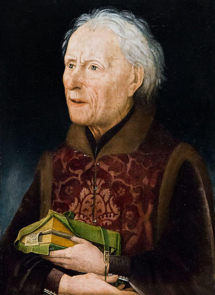 Fabian Fröhlich, Ausstellung Spätgotik, Gemäldegalerie Berlin, Hans Pleydenwurff, Portrait Graf von Löwenstein