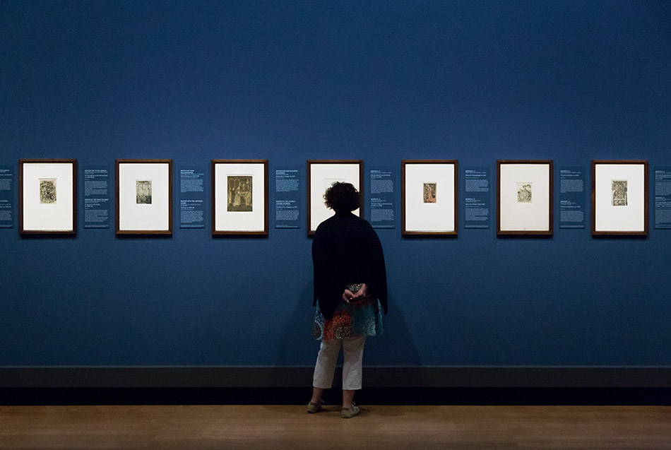 Fabian Fröhlich, Ausstellung Spätgotik, Gemäldegalerie Berlin, Meister E.D.