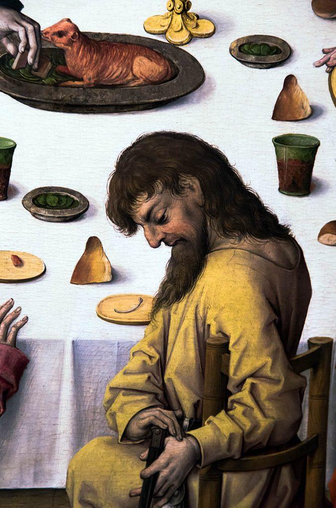 Fabian Fröhlich, Ausstellung Spätgotik, Gemäldegalerie Berlin, Meister des Hausbuchs, Das letzte Abendmahl