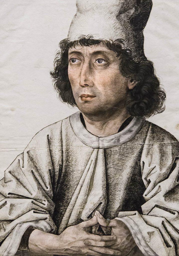 Fabian Fröhlich, Ausstellung Spätgotik, Gemäldegalerie Berlin, Meister des Mornauer-Bildnisses, Bildnis eines Mannes