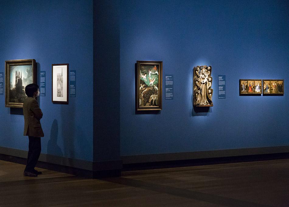 Fabian Fröhlich, Ausstellung Spätgotik, Gemäldegalerie Berlin, Fragmente des Palant-Altars