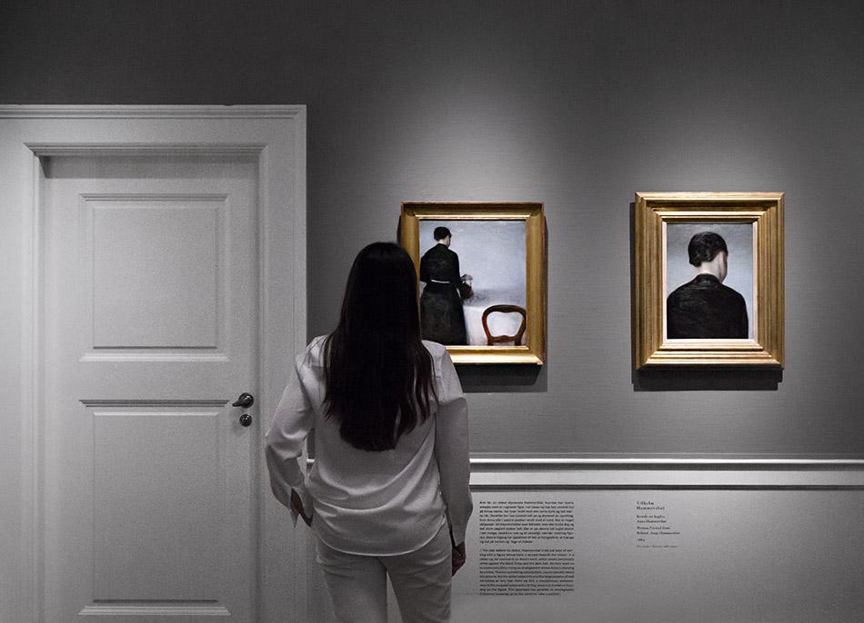 Fabian Fröhlich, Kopenhagen, Sammlung Hirschsprung, Vilhelm Hammershøi, Five Portraits, FREMKALDELSER