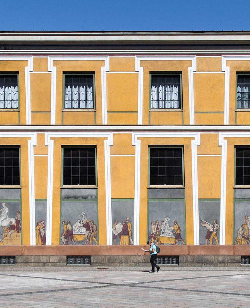 Fabian Fröhlich, Kopenhagen, Thorwaldsens Museum, außen