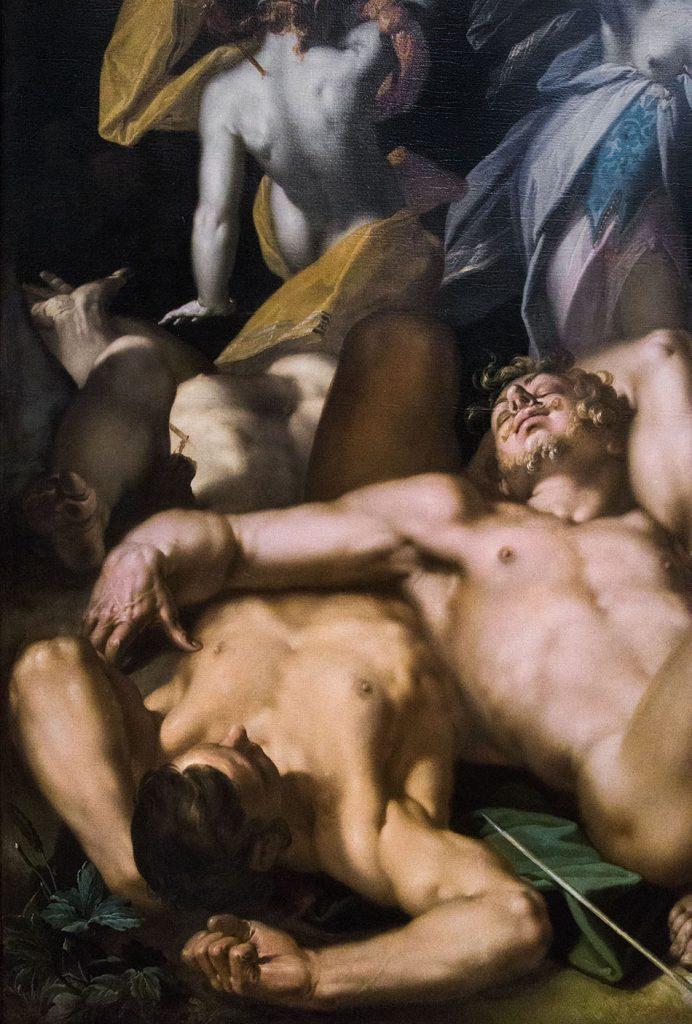 Fabian Fröhlich, Kopenhagen, Statens Museum for Kunst, Abraham Bloemaert, Apollo and Diana Punishing Niobe by Killing her Children