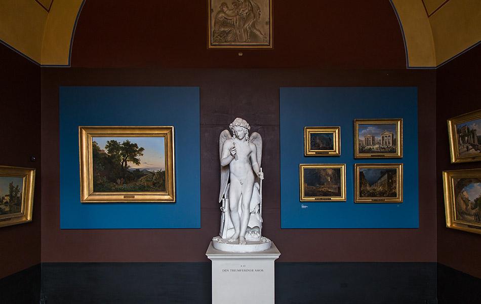 Fabian Fröhlich, Kopenhagen, Thorwaldsens Museum, Amor mit Bogen