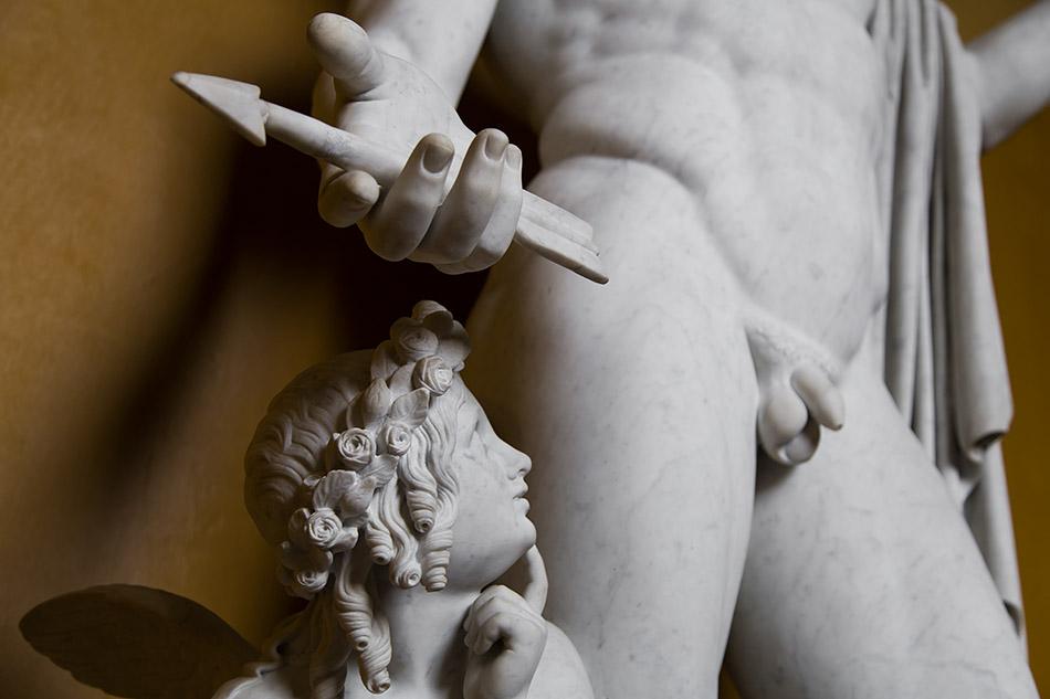 Fabian Fröhlich, Kopenhagen, Thorwaldsens Museum, Mars und Amor