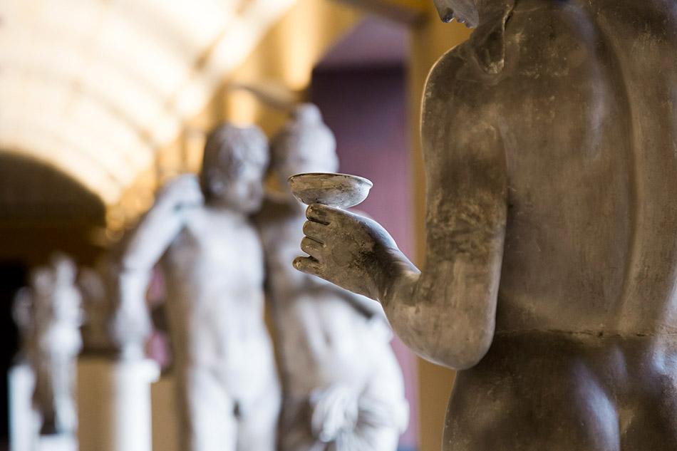 Fabian Fröhlich, Kopenhagen, Thorwaldsens Museum, Obergeschoss