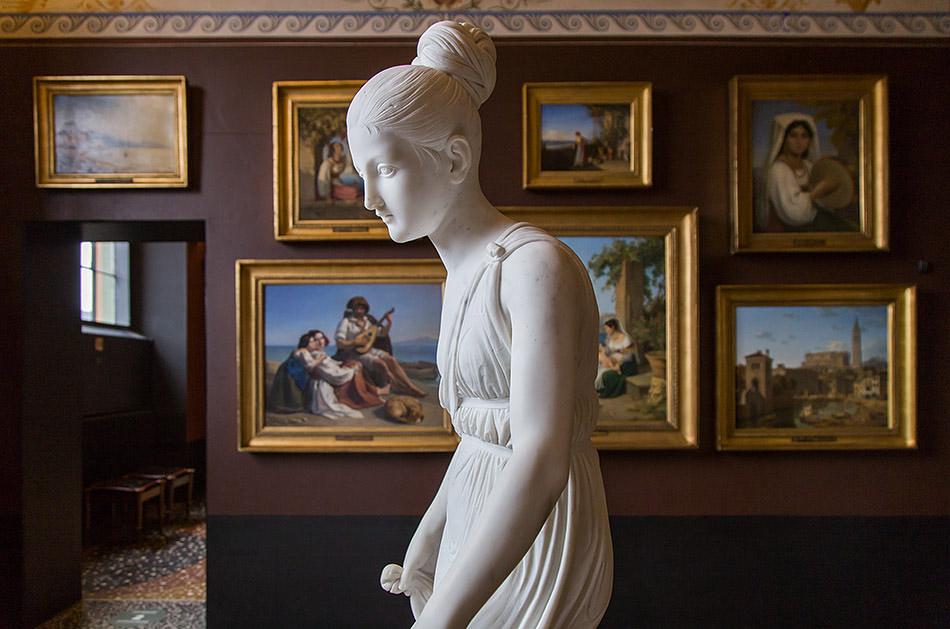 Fabian Fröhlich, Kopenhagen, Thorwaldsens Museum, Tanzendes Mädchen